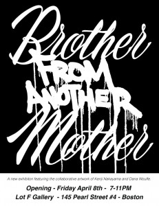 Brother From Another Mother - flyer