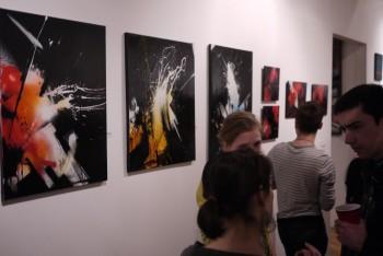 Splash paintings