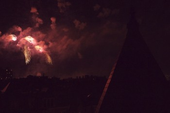 Fireworks - Fumikas Roof - Boston, MA