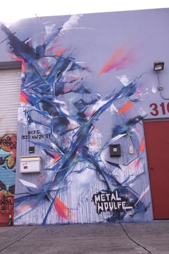 MetalWoulfe v8 - Art Basel 2011 - Miami, FL
